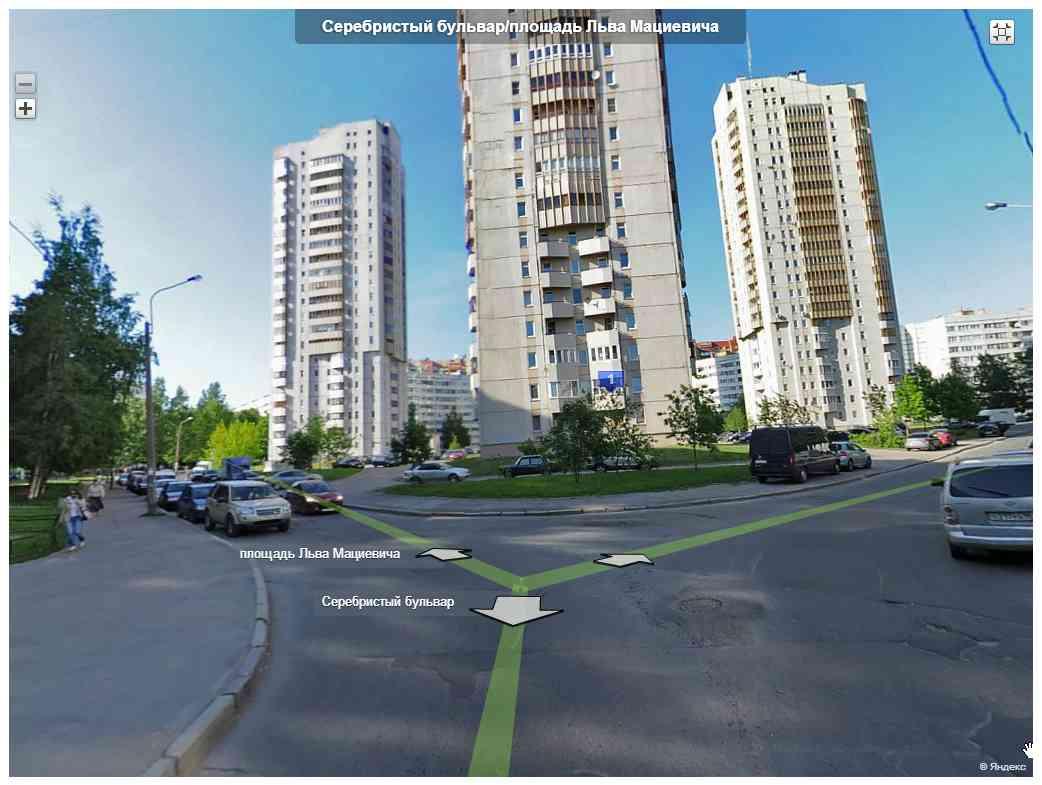 Вызов электрика на площадь Льва Мациевича Яндекс-панорама