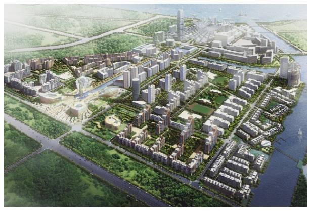 Рисунок 1. Проект планировки жилого комплекса «Балтийская жемчужина».